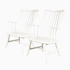 Stühle mit Sprossen von Lena Larsson für Nesto, 1950er, 2er Set