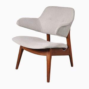 Scandinavian Style Lounge Chair by Louis van Teeffelen for WéBé, 1950s