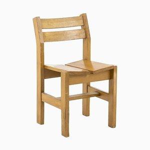 Cherry Perriand Stühle und Hocker aus Pinienholz, 1960er, 6er Set