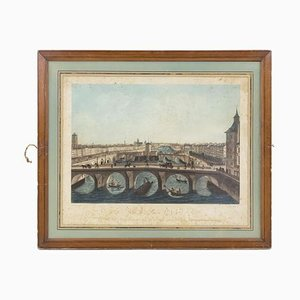 Ansicht von Paris Nr. 12 Farbdruck von Henri Courvoisier-Voisin & Pierre-Charles Coqueret