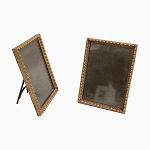 Gilt Bronze Frames, 1880s, Set of 2