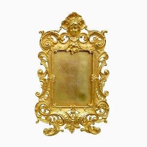 19th-Century Louis Xv Style Gilt Bronze Frame