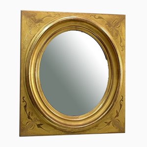 19th Century Golden Wall Mirror