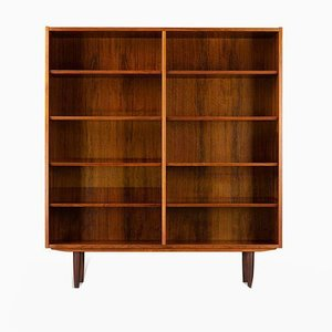 Large Rosewood Bookcase by Carlo Jensen for Hundevad & Co., 1960s