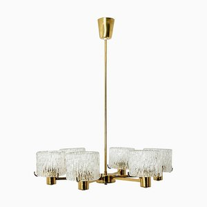 Chandelier by Carl Fagerlund for Orrefors, 1960s