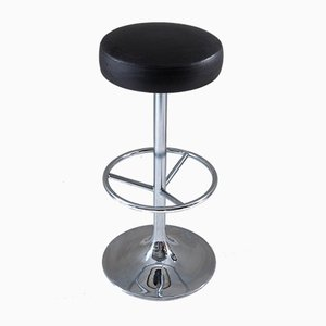 Swedish Chrome Barstools from Johanson Design, 1980s, Set of 3