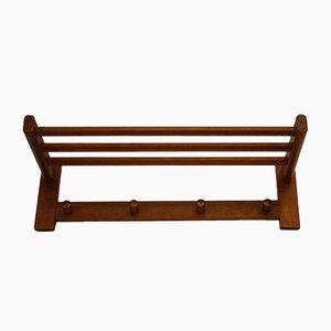 Rosewood Model 133 Wall Coat Rack from Aksel Kjersgaard, 1960s