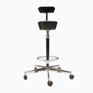Perch Stuhl aus Leder von George Nelson für Vitra, 1990er