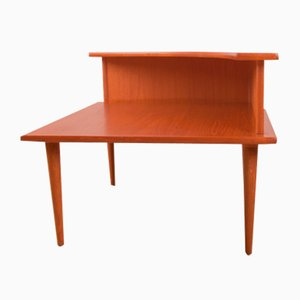 Danish Teak 2-Tier Nesting Tables, 1960s