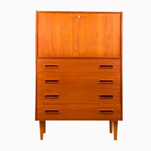 Danish Teak Secretaire from Erik Jensen, 1960s