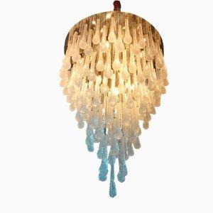 Lámpara de araña en blanco de Davide Donà