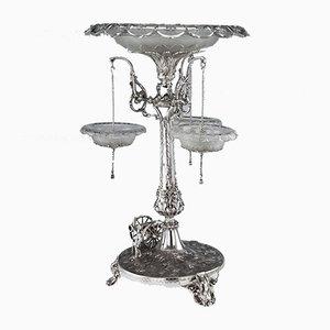 Wikinger Tafelaufsatz aus Königsgarnitur von Jonas & George Bowen, 1870er