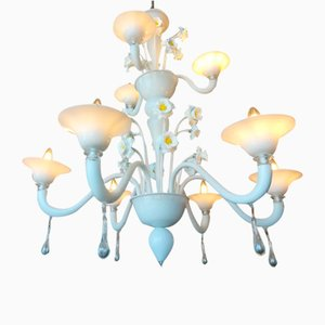 Lámpara de araña floral