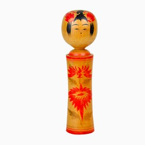 Kokeshi Puppe von Setsuko Hayasaka, 1970er