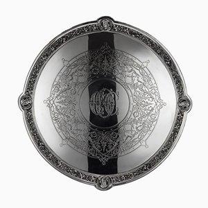 Englische viktorianische silberne Silberschale von John Hunt & Robert Roskell, 1870er