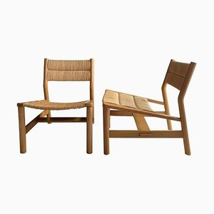 Mid-Century Lounge Chairs by Pierre Gautier Delaye, Set of 2