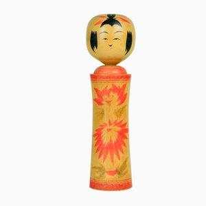 Kokeshi Puppe von Sazuko Sato, 1970er
