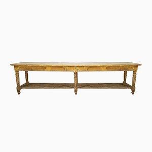 Tavolo da Drappi in legno di pino