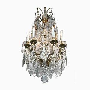 French Crystal Chandelier, 1800s