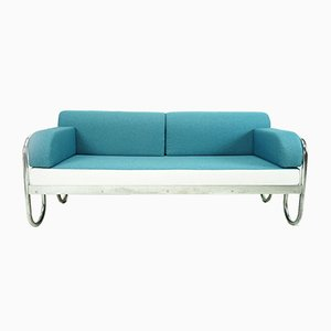 Vintage Bauhaus Sofa Daybed with Loop Feet, 1930s