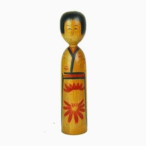 Kokeshi by Heishiro Age, 1960s