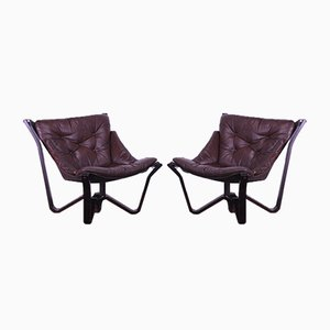 Viking Chairs by Myrstad Jim for Brunstad, 1970s, Set of 2