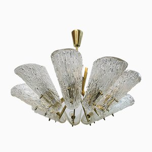 9-Light Chandelier by J. T. Kalmar for Kalmar, 1960s