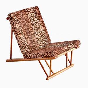 Dänischer Modell J58 Lounge Stuhl aus Buchenholz von Poul Volther für FDB, 1954