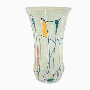 Große Deutsche Marine Keramik Vase als Schirmständer, 1960er