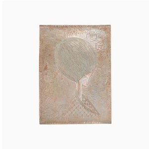 Italian Copper Wall Panel by Gallinaro, 1950s