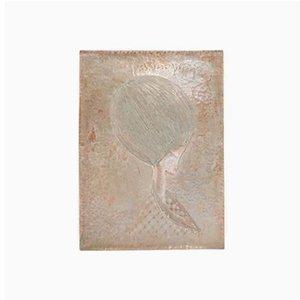 Italienische Wandtafel aus Kupfer von Gallinaro, 1950er