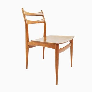 Danish Dining Chairs by Niels Otto Møller, 1950s, Set of 2