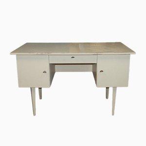 Mid-Century White Painted Desk, 1960s