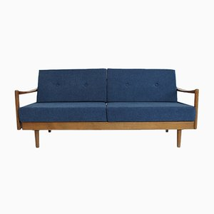 Mid-Century Extendable Sofa Daybed by Wilhelm Knoll for Knoll Antimott, 1950s
