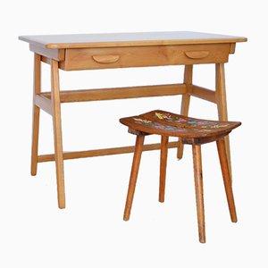 Schweizer Schreibtisch von Jacob Müller für Wohnhilfe, 1950er