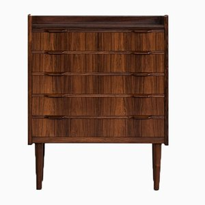 Small Mid-Century Danish Rosewood Chest of Drawers, 1960s