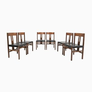 Dining Chairs by Titina Ammannati & Giampiero Vitelli for Rossi di Albizzate, 1970s, Set of 6