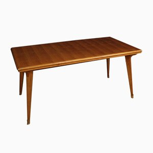 Italian Cherry and Fruitwood Dining Table, 1960s