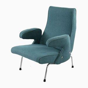 Delfino Lounge Chair by Erberto Carboni for Arflex, 1950s