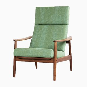 Teak High Back Easy Chair by Arne Vodder for France & Søn / France & Daverkosen, 1960s
