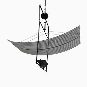 Italienische Metall Deckenlampe von Mario Botta für Artemide, 1988