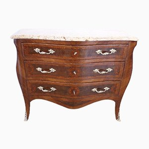 Italian Louis XV Chest of Drawers Commode, 1920s