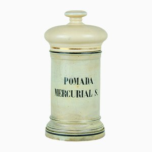 Pharmaceutical Bottle Mercurial Ointment S, 1950s