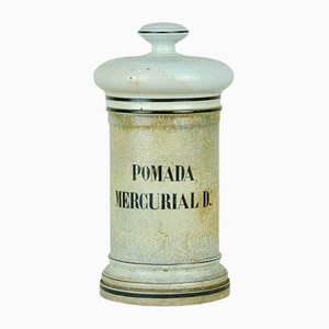 Pharmaceutical Bottle Mercurial Ointment D, 1950s