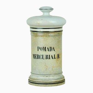 Pichet Pharmaceutique Mercurial Pommade D, 1950s