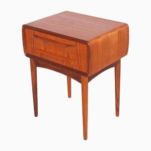Tables de Chevet Mid-Century en Teck par Johannes Andersen pour Silkeborg Møbelfabrik, Danemark, 1960s, Set de 2