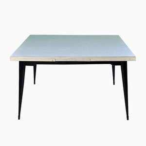 White Formica Dining Table, 1960s