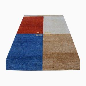 Modern Gabbeh Wool Carpet, 2001