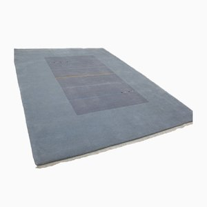 Nepali Modern Grey Wool Carpet, 2001