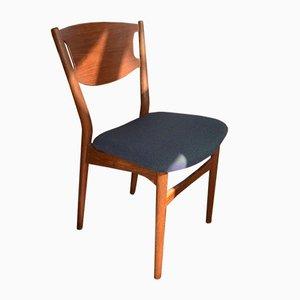 Sedie da pranzo modello 42A di Helge Sibast per Sibast, anni '60, set di 8
